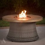 Agio Tempe Gas Fire Pit med bronschatbas