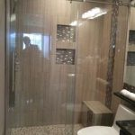 DreamLine Enigma-X 56 to 60 in. x 76 in. Frameless Sliding Shower Door in Polished Stainless Steel-SHDR-61607610-08