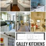 KÖKDESIGN: Galley Kitchen Layouts via Remodelaholic.com