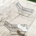 Leaf chaise lounge (outdoor