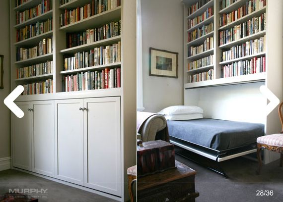 Small Space Solutions: Murphy Bed Ideas & Inspiration