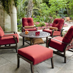 Woodard Cortland Cushion Aluminium Lounge Set