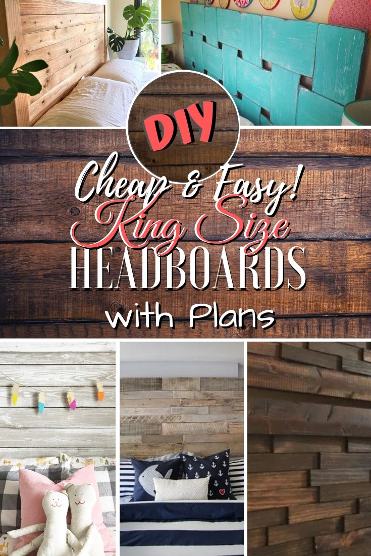105 Easy DIY Headboards You Can Build on a Budget (Updated for 2019)