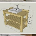 24 Easy DIY Bathroom Vanity Plans for a Quick Remodel
