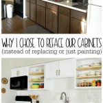 Why I Chose to Reface My Kitchen Cabinets (rather than paint or replace) - Refresh Living
