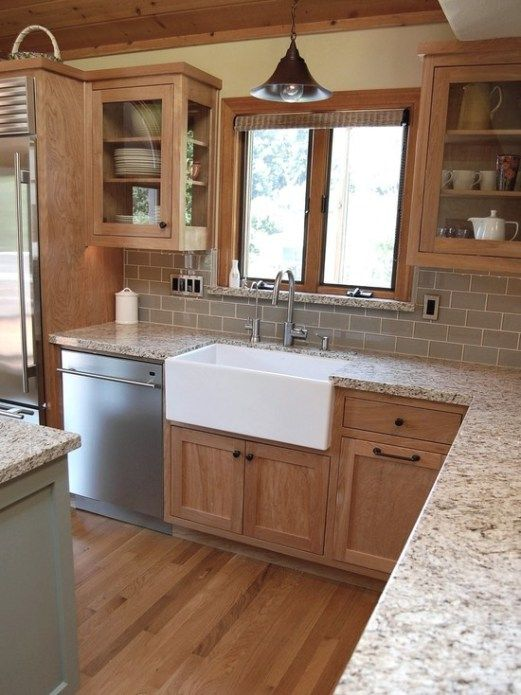 5 Ideas: Update Oak or Wood Cabinets WITHOUT a Drop of Paint