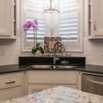 23 Exciting Design of Corner Kitchen Sink Ideas For Best Cooking Experience