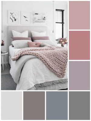 21 Cool Bedroom Color Schemes Ideas Plus Color Chart | ARA HOME #bedroomcolors #…
