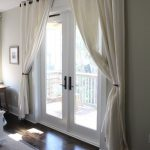 30A Home Tour: Seaside, Florida | Beach House Decor - French Doors with Curtains