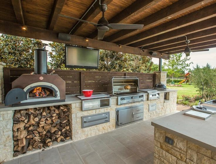 40+ Best Outdoor Kitchen Design and Ideas in 2019
