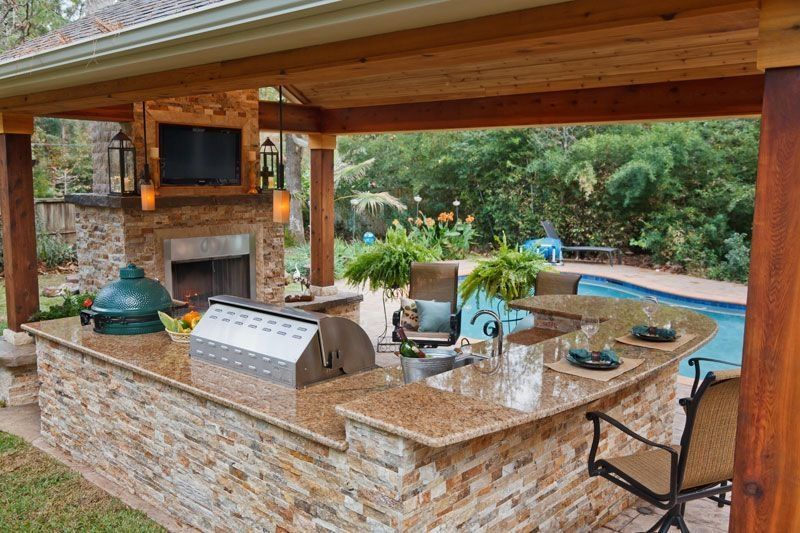 46 Unordinary Outdoor Kitchen Design Ideas