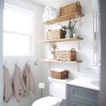 47 Clever Small Bathroom Decorating Ideas #Home Decoration # #CleverSmallBathroo...