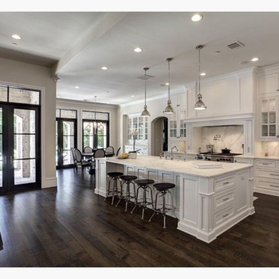 50 Beautiful Hampton Style Kitchen Designs Ideas – ROUNDECOR