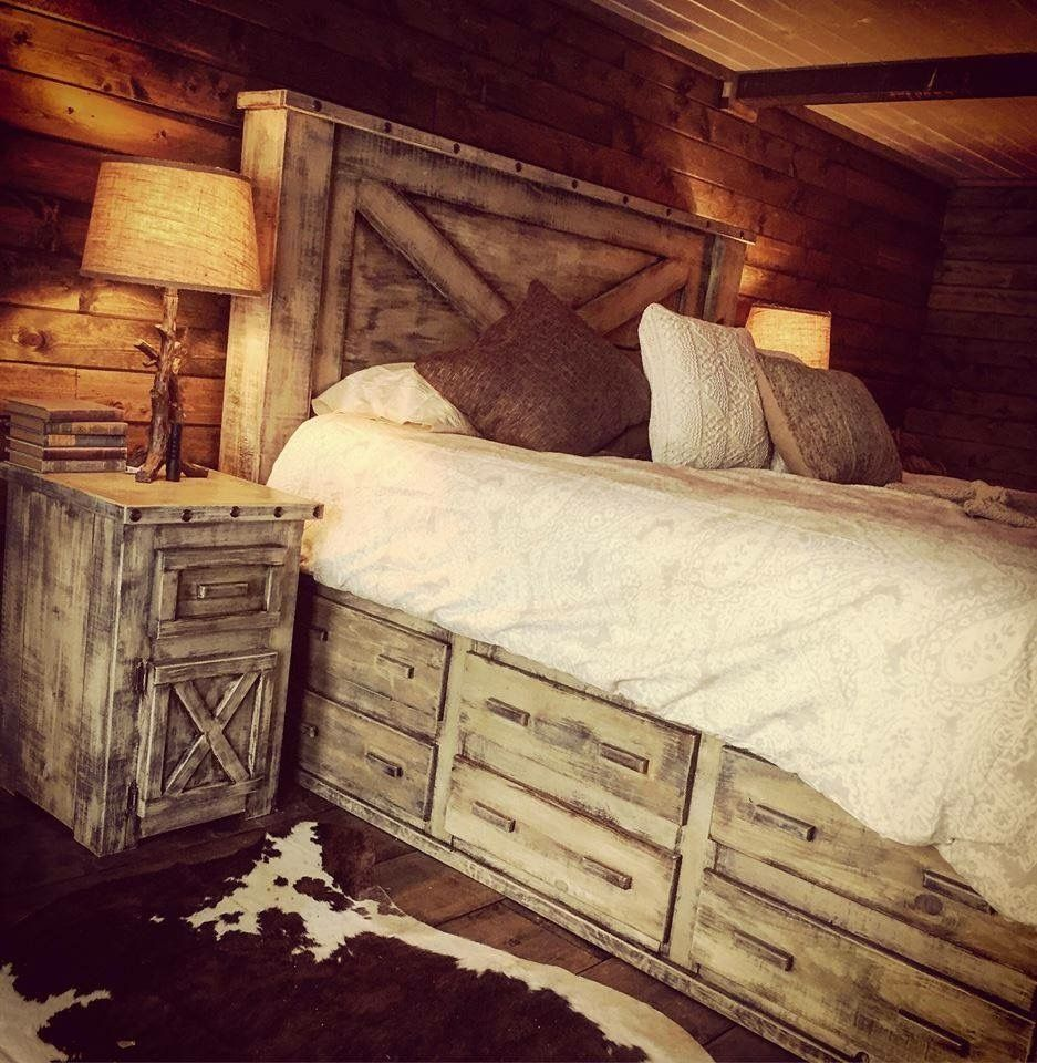 51 Awesome Rustic Bedroom Furniture Ideas to Get the Farmhouse Charm