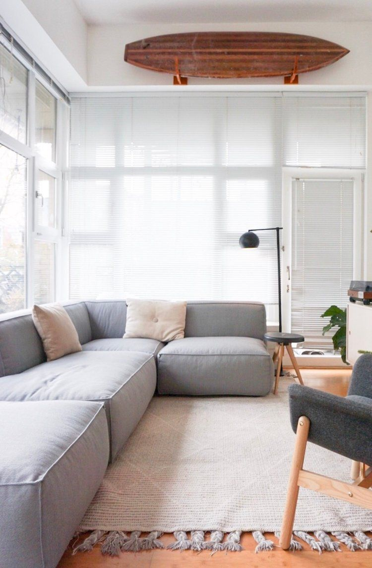 A Modular Sofa for Our Small Space — 600sqftandababy