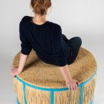 A Stool Made From Straw By Juan Cappa
