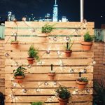 About these adorable string lights (and a NBD view)... Feeling so inspired. ❤...
