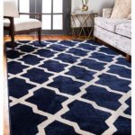 Bridgeport Home Arbor Arb2 Navy Blue 7' x 10' Area Rug
