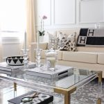 Coffee table styling, brass and lucite coffee table, Minted Time Stood Still pri...