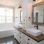 "Custom Made Wooden Bathroom Vanity. One shown is approximately 35"" tall x 25..."