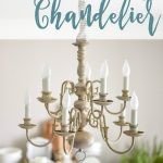 DIY Plug In Chandelier. Change An Old Hardwire Fixture Into A Gorgeous Plug In F...