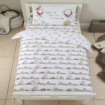 Disney Winnie the Pooh Cot Bed Duvet Cover and Pillowcase Set