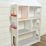 Dollhouse Bookcase - DIY Windows and Front Door