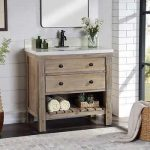 "Elbe Rustic 36"" Vanity Single Sink Vanity By Northridge Home"