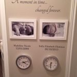 Family Wall Decal - A Moment In Time changed forever with set of names and dates - Family room decor - Wallapalooza Wall Decals - Wall Art