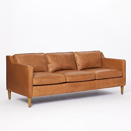 Hamilton Leather Sofa (81″)