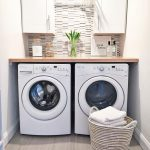 """Holly on Instagram: """"Our laundry room was the last room we left unfinished in our remodel, but now it's done and I'm so excited! . . #decordaythursday…"""""""