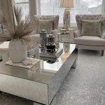 Hollywood Mirrored Rectangular Coffee Table – HOS Home