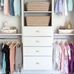 How to Build a Beautiful Baby Clothes Organizer