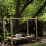 How to Build a Hanging Bed - Easy DIY Outdoor Swing Bed to Complete Your Backyard Goals
