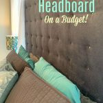 How to Make a Fabric Headboard on a Budget