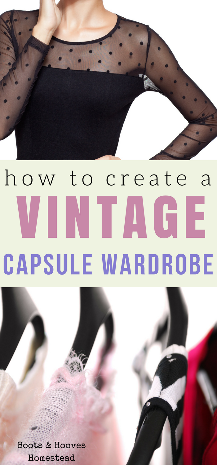 How to Put Together a Vintage Inspired Capsule Wardrobe