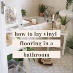 How to lay vinyl floor in a bathroom by yourself