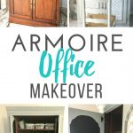How to make an Armoire Office