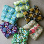 How to make chair cushions. Yellow patterned for one side, and white or cream fo...