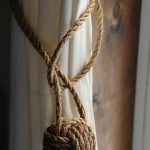 Items similar to Nautical Curtain Tie Backs - Nautical Decor - Nautical Curtains...