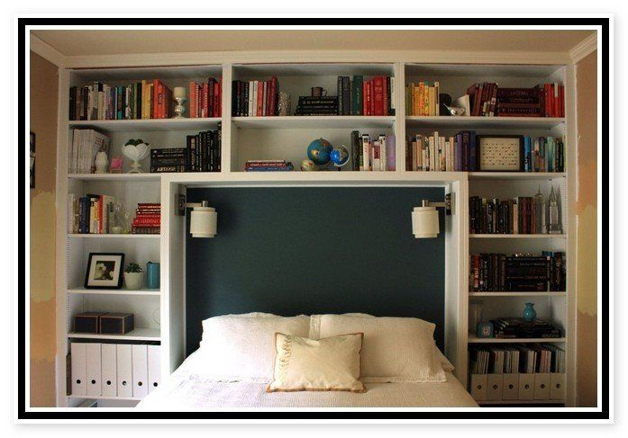 King Size Bookshelf Headboard – Ideas on Foter