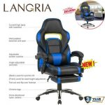 LANGRIA Gaming Chair Desk Office Ergonomic High-Back Computer Chair Adjustable #...