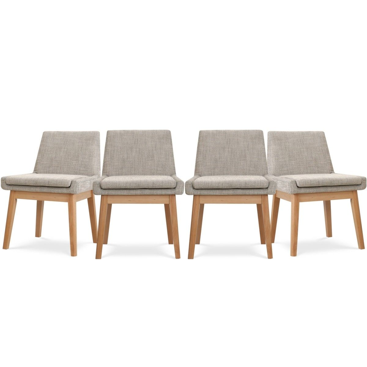 Lewis Armless Chair, 2 Pairs