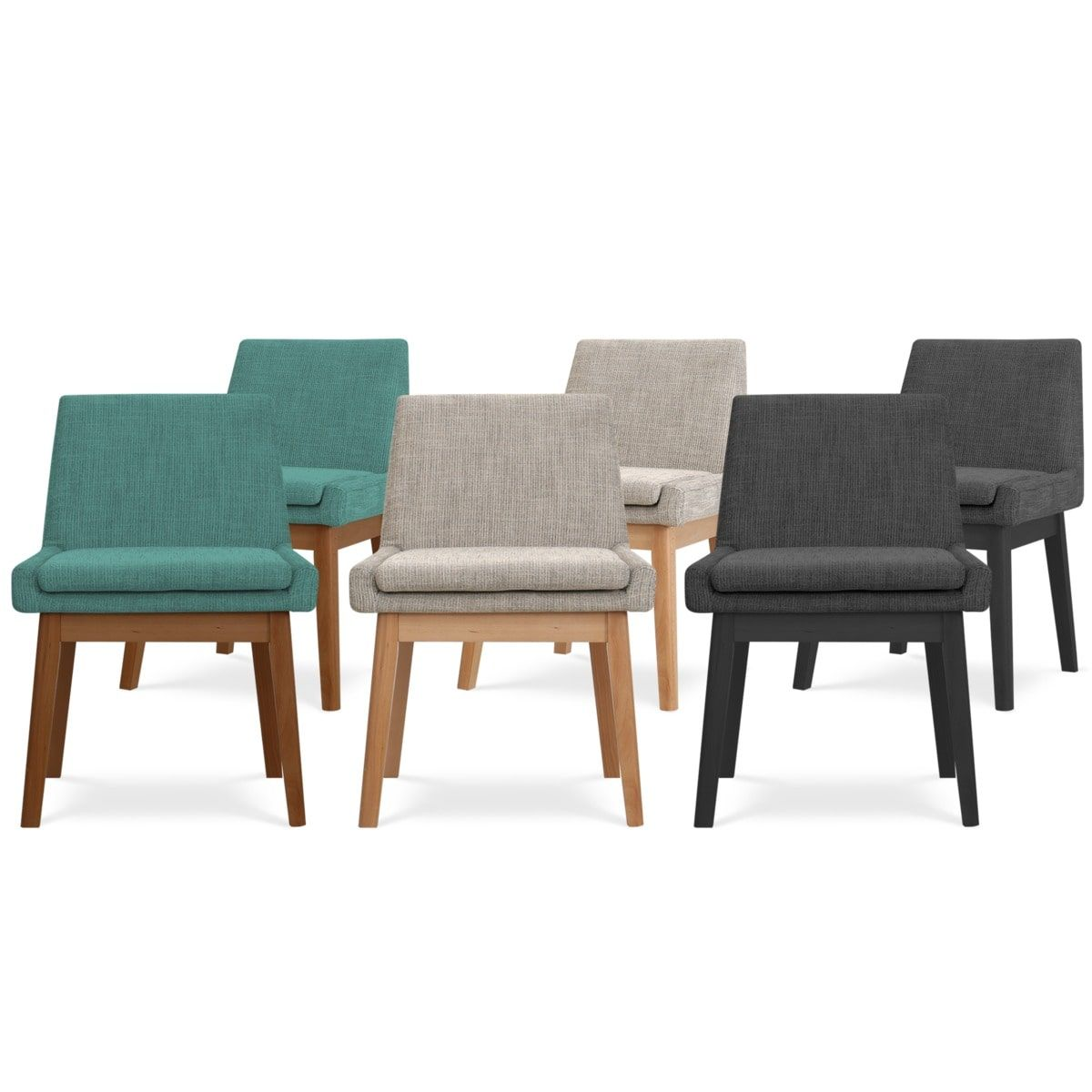 Lewis Armless Chair, 3 Pairs