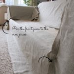 Linen Slipcovered Couch-Tutorial
