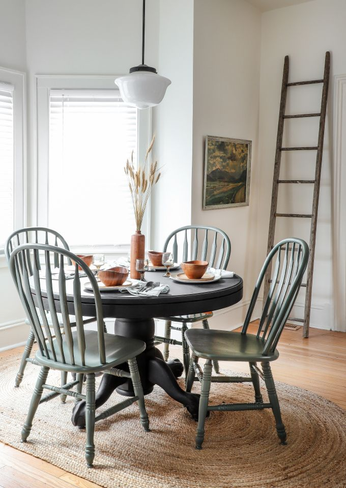MY DIY | Thrifted Dining Chair Makeover with @KrylonBrand #sponsored