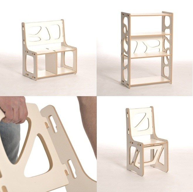 Modular Furniture 'Inspired by Lego'