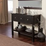 Morton Contemporary Sideboard - Black, 46L x 18D x 36H inches | from hayneedle.c...