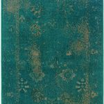 Oriental Weavers Revival 3690d Teal Area Rug