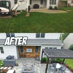 Outdoor Living Patio Area (Before & After